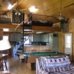 Cabin Loft sleeps another four.